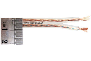 Speaker Cable 105 x 0.11mm 99.999% OFC