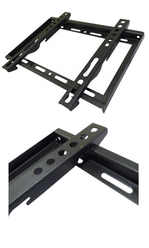 200 x 200 Fixed TV Wall Mount 14-37 30kg Slim