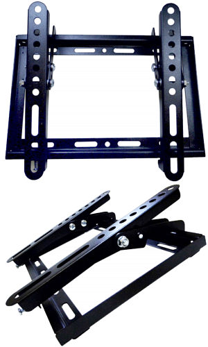 200 x 200 Tilting TV Bracket 14-37 30kg Slim
