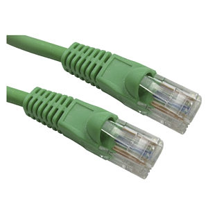 20m Ethernet Cable CAT6 Patch Cable UTP Green LSZH Low Smoke Full Copper