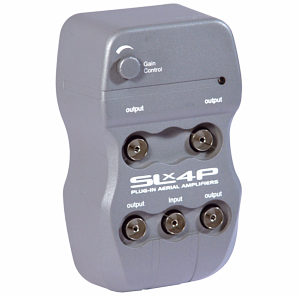 SLX 4 Way Aerial Amplifier 27843HS