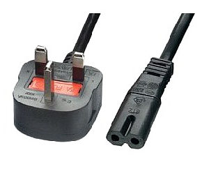 3m Figure 8 Power Lead - Power Cable