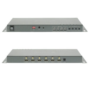 2x4 HDMI Matrix Switch 2 In 4 Out Splitter / Switch