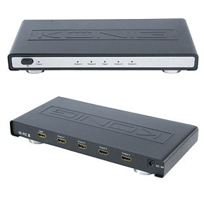 HDMI Splitter 4 Port 1080p 12 Bit Deep Colour