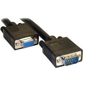 Monitor Extension Cable 5m VGA / SVGA Black Male - Female