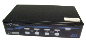 4 Port USB KVM With Audio