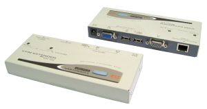 USB KVM Extender Over CAT5e