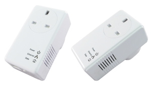 500Mbps Pass Through Homeplug Dual Pack