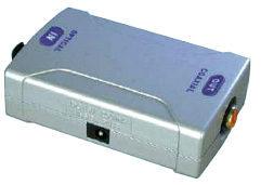 Digital Optical to Digital Coaxial Converter