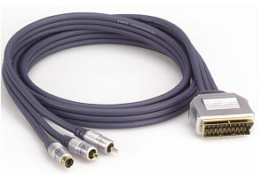 Profigold PGV615 5.0m Scart - S-Video Cable