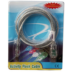 1.8m USB Flasher Cable (Red)