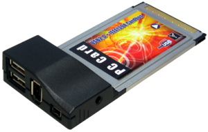 USB 2.0 1394A Combo Cardbus