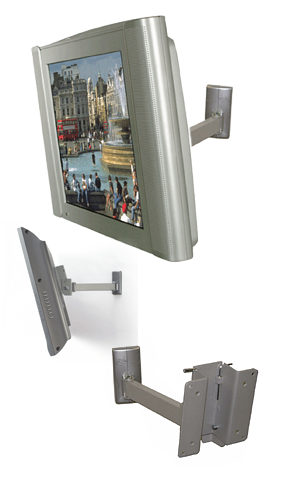 B Tech Bt7512 Lcd Wall Mount With Tilt And Swivel For Lcd
