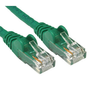 Cat6 LSOH Network Ethernet Patch Cable GREEN 0.5m