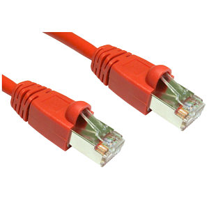 CAT6 Shielded Patch Cable 3m Red
