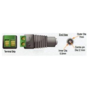 CCTV DC Power Socket Adapter