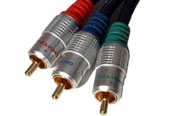 2m Component Video Cable