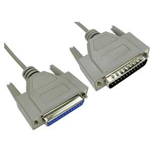D25 Male to D25 Female Serial Extension Cable