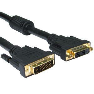 2m DVI Extension Cable DVI-D Dual Link
