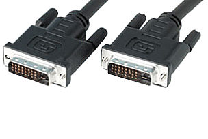 10m DVI-I Dual Link Cable Analogue & Digital DVI