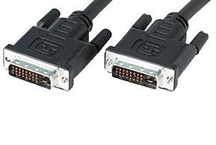 10m DVI-I Dual Link Cable Analogue & Digital DVI