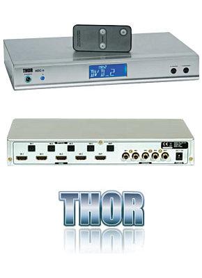 Thor HDC75 4 Way HDMI Switch - Remote Control 28580T