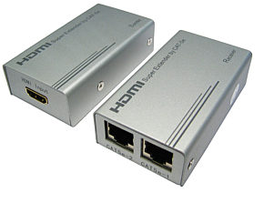 HDMI Over Cat 5 Balun HDMI Extender CAT5e / CAT6 1080p 50m