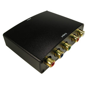 HDMI to Component Video Converter with Audio