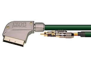 IXOS 137-300 3m S-Video & 2 RCA to Ingot Scart Lead