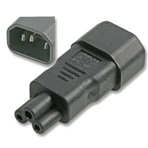 Kettle to Cloverleaf Power Adapter C14 to C5