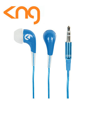 Kng Oozy Blue Ear Fusion Earphones KNG-2020