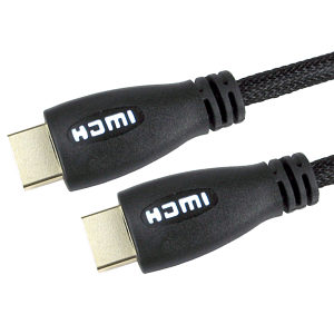 Light Up HDMI Cable 3m White - 1080p 4k 3D ARC