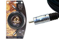 Profigold  3m Subwoofer Cable PGA4103 RCA - RCA Audio Cable