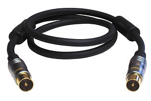 Profigold PGV8905 5m TV Aerial Cable with Suppressors
