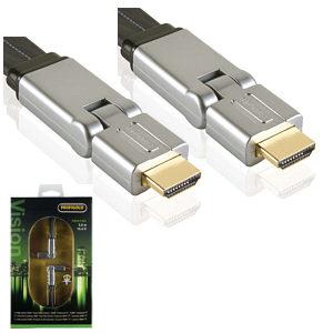Profigold PROV1302 2m High Speed Swivel HDMI Cable