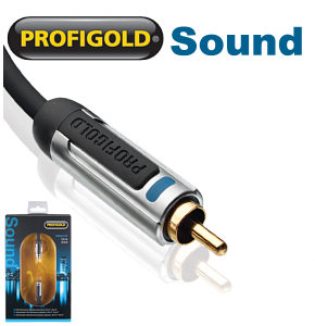 Profigold PROA4110 10m Dedicated Subwoofer Cable