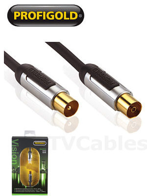 Profigold PROV8703 3m TV Aerial Extension Cable Male to Female