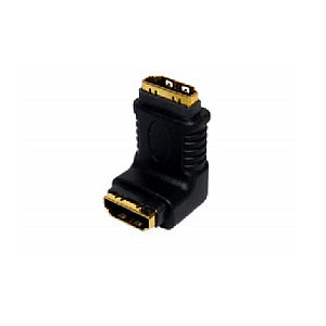 Right Angle HDMI Female to HDMI Female Joiner Coupler