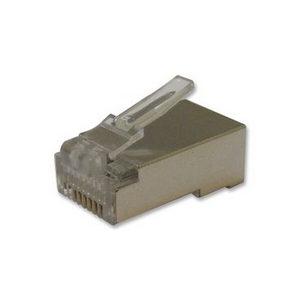 RJ45 Cat 6 Shielded Plug (10 Pack)