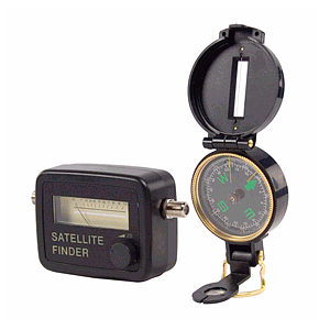 Satellite Finder Kit Meter Compass Satellite Dish Alignment Kit