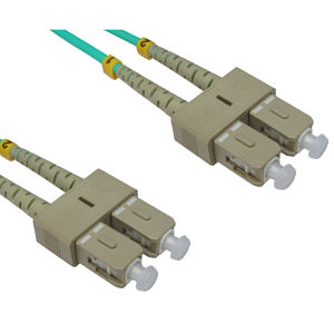SC -SC 50/125 OM3 Fibre Optic Patch Cable 0.5m