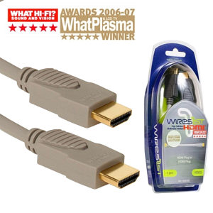 Techlink 640202 2m High Speed with Ethernet HDMI Cable