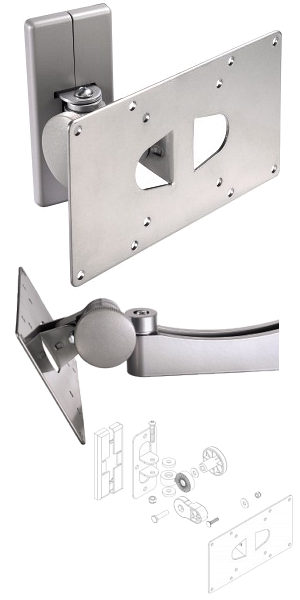 "Tilt Swivel TV Wall Mount 10"" - 32"""