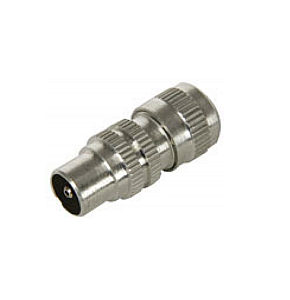 Coax Plug TV Aerial Plug Aluminium 10 Pack