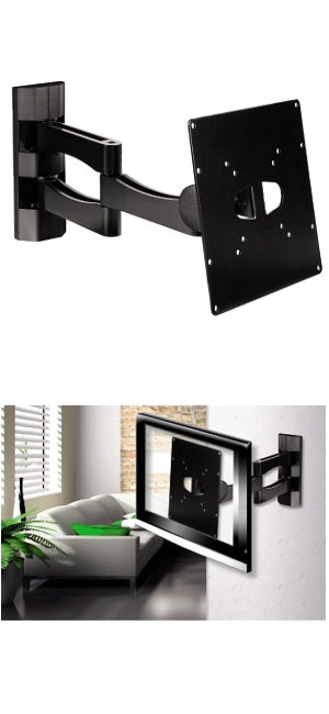 "TV Wall Bracket Full Motion Arm 10"" - 37"""