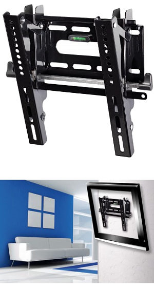 "Ultra Slim Tilting TV Wall Mount 10"" - 37"""