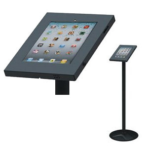 Universal Anti Theft Tablet Stand Black