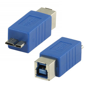 USB 3.0 Adapter B Female to Micro B Male