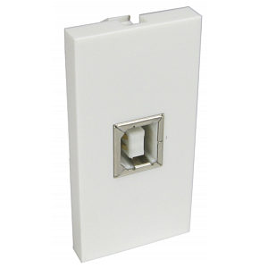 USB Socket Faceplate Module Type B Female Euromod Wall Plate Module