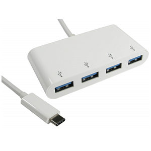 USB Type C 4 Port USB Hub